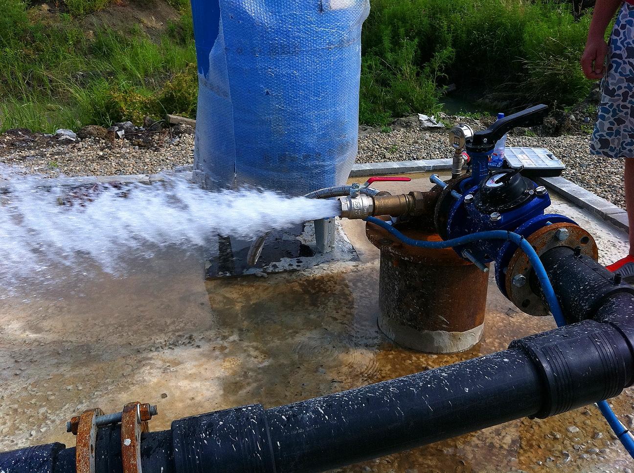скважина на воду бурение